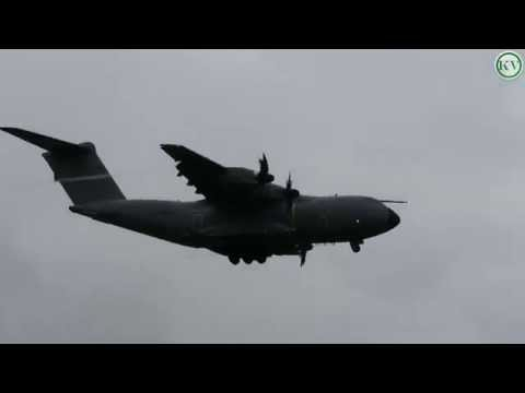 RAF Airbus A400M Atlas, Circuit approach, Newquay Airport ZM400