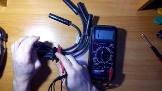 Проверка высоковольтных проводов на Ниве.