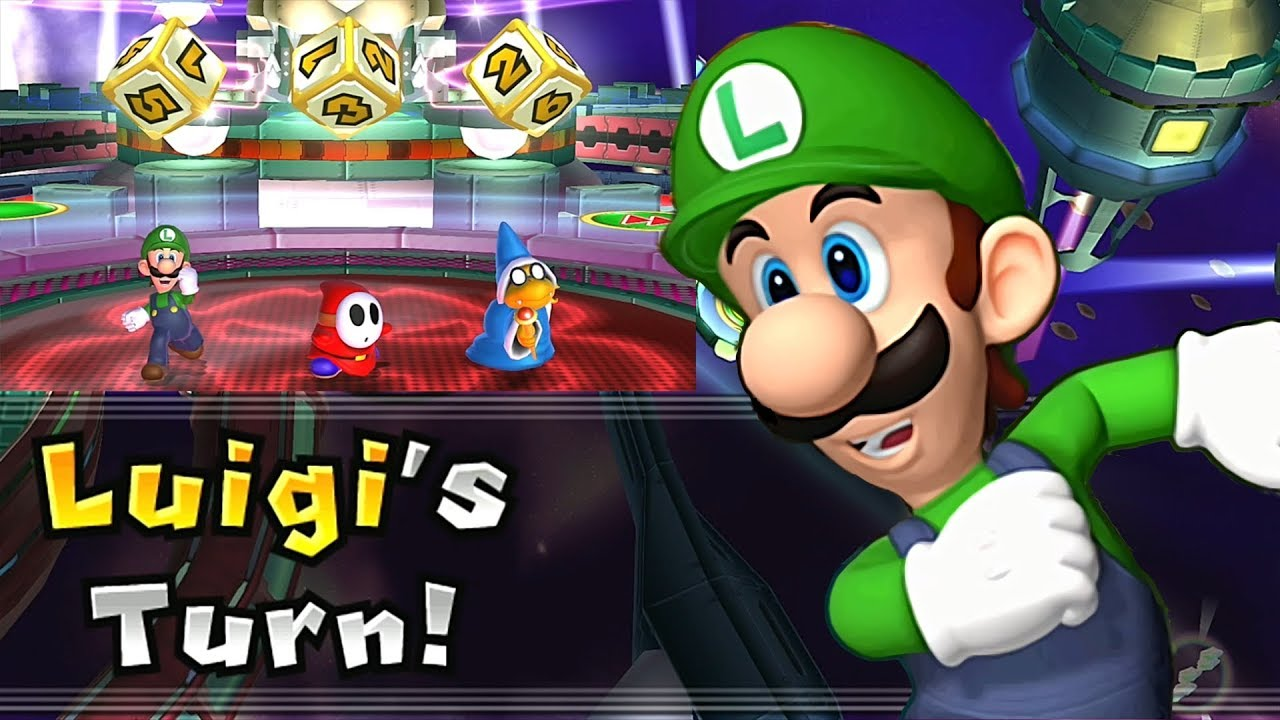 Mario Party 9 Solo Mode Luigi Bowser Station Part 6 345 Youtube