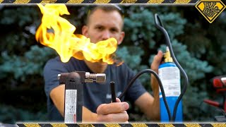Liquid Propane and TASER Powered Ignition
