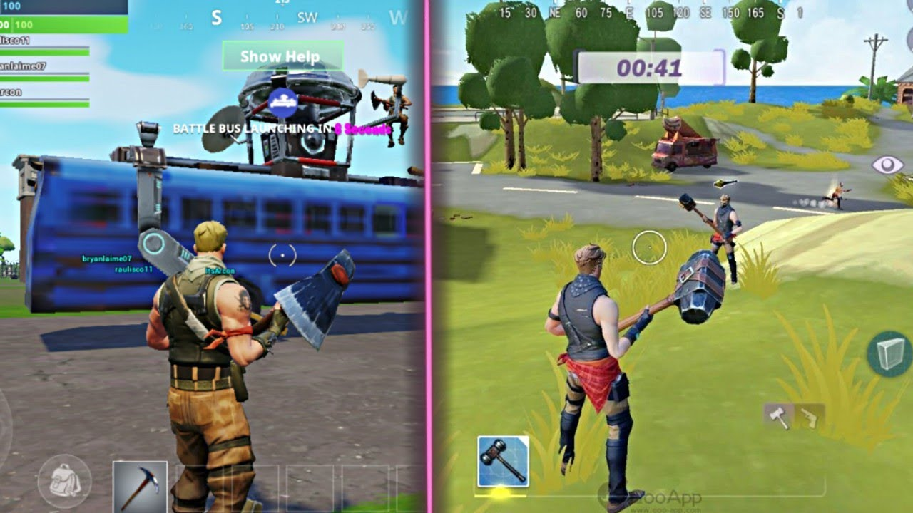 Top 5 Games Like Fortnite For Android 2018 Youtube