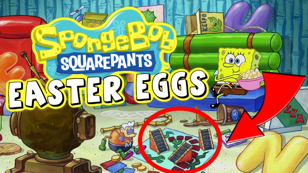 Spongebob Easter Eggs