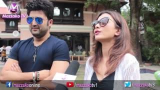Masti & Fun with Aaryan Sigdel, Namrata Shrestha & Nirak Poudel || Mazzako TV