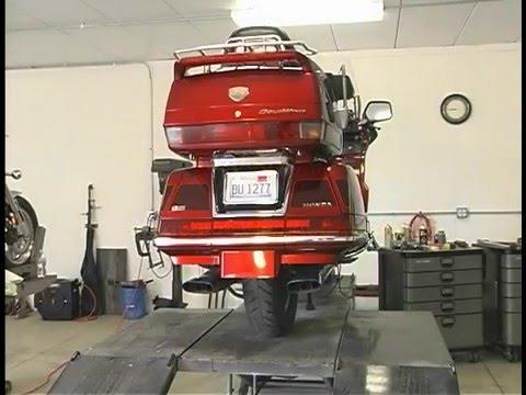 Honda GL1500    Voyager       Trike       Kit       Installation     YouTube