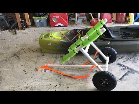 Building a kayak cart