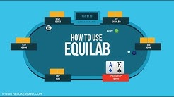 How To Use Equilab (Free Poker Equity Calculator) | Poker Quick Plays
