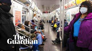 Risking coronavirus on the New York City subway