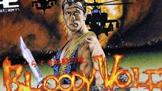 Classic Game Room - BLOODY WOLF review for PC-Engine