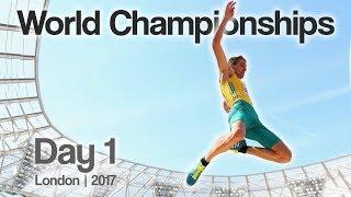London World Championships Decathlon Vlog! | Day 1