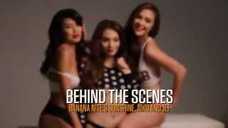 The Girls of Banana Nite - FHM Cover Girls January 2014
