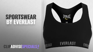 Top 10 Everlast Sportswear [2018]: Everlast Womens Classic Sports Bra Elasticated Waist Training Top