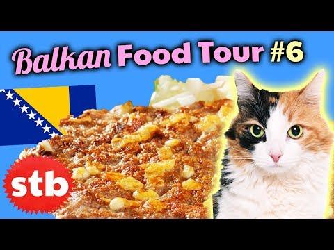 BALKAN FOOD TOUR #6: Trying Bosnian Food in Mostar, Bosnia & Herzegovina