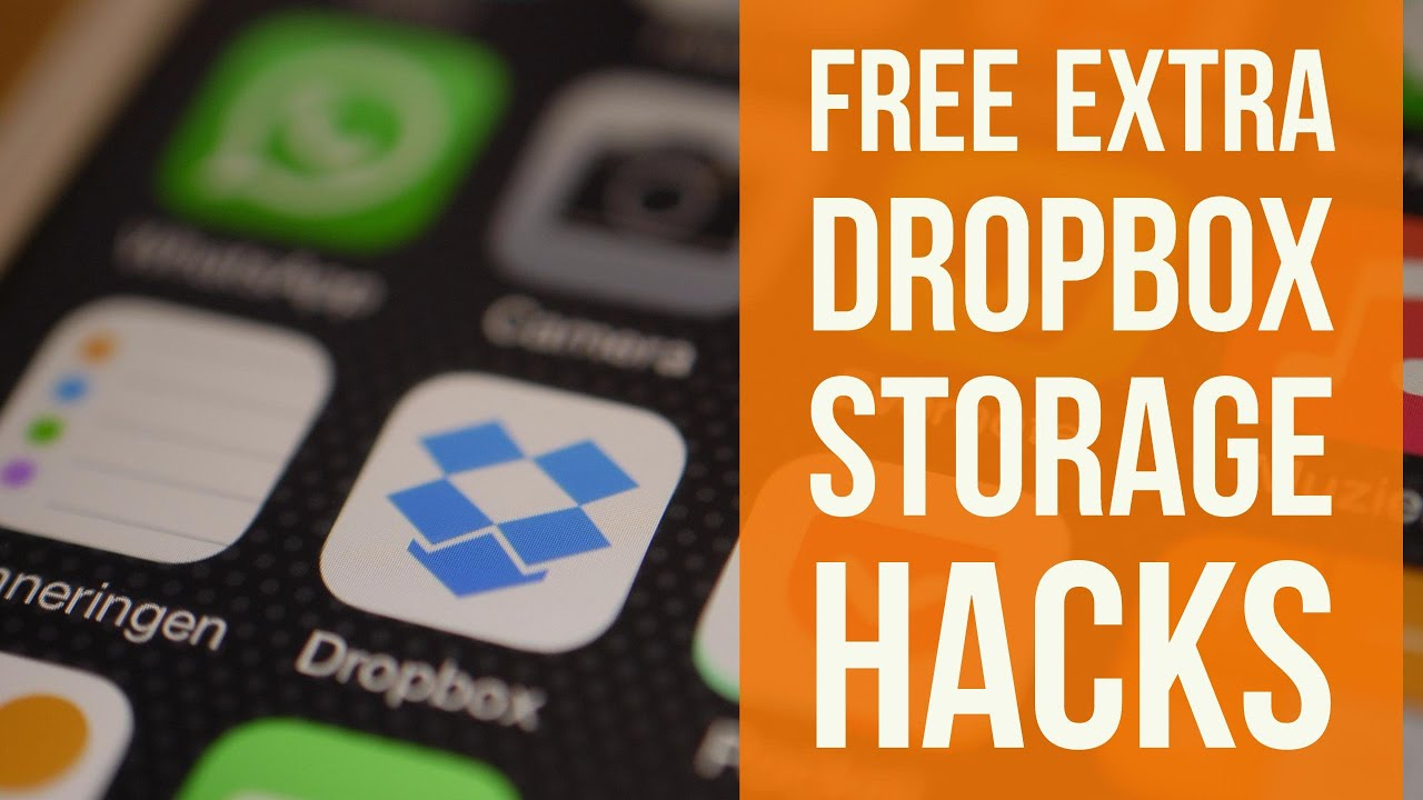 Dropbox Free Storage Hacks