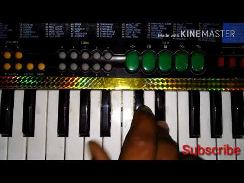 Dil ka aalam main Kya bataun tujhe piano on keyboard song