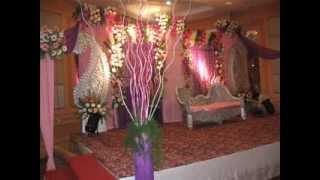 pink and White Decoration in wedding