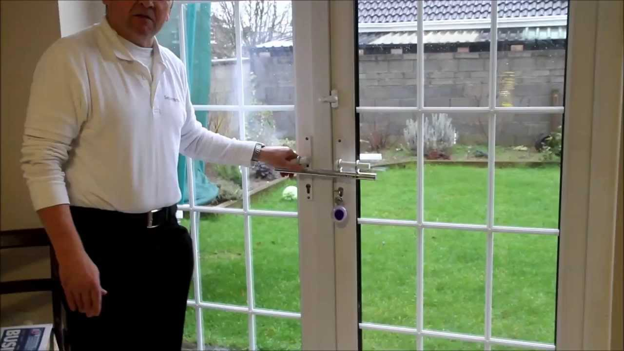 French Door Security - French Door Security - YouTube