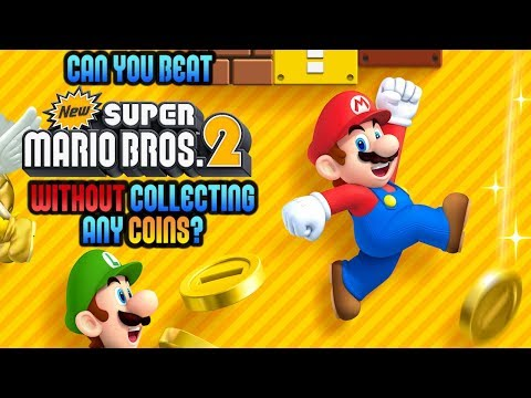 VG Myths – Can You Beat New Super Mario Bros. 2 Without Collecting Any Coins?