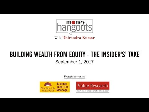 Building wealth from equity - The insiders' take
