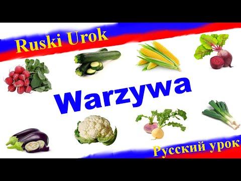 Rosyjski 36 Warzywa Po Rosyjsku