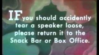 Drive-In Theater PSA..Remember please hang up the speaker before you leave..