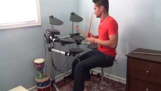 Crazy all my life-Daniel powter - Leo drums cover