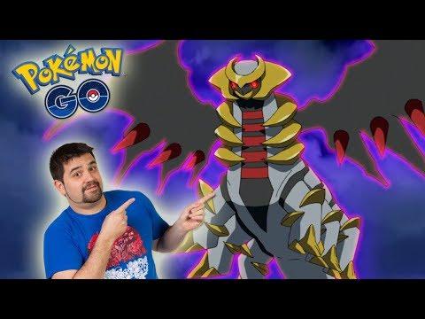 ¡COMO GANAR a GIRATINA el NUEVO POKÉMON LEGENDARIO de 4 GENERACIÓN de Pokémon GO! [Keibron] thumbnail