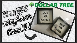 Dollar Tree DIY | EASY DIY using these Dollar Tree items