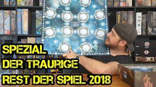 Spezial - Was von der SPIEL 2018 noch übrig ist - Brettspiele - Boardgame Digger