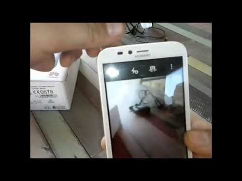Unboxing & Review Huawei Y625