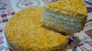 НОВИНКА ТОРТ ИЗ ХЛЕБА Шикарный торт без выпечки из хлеба