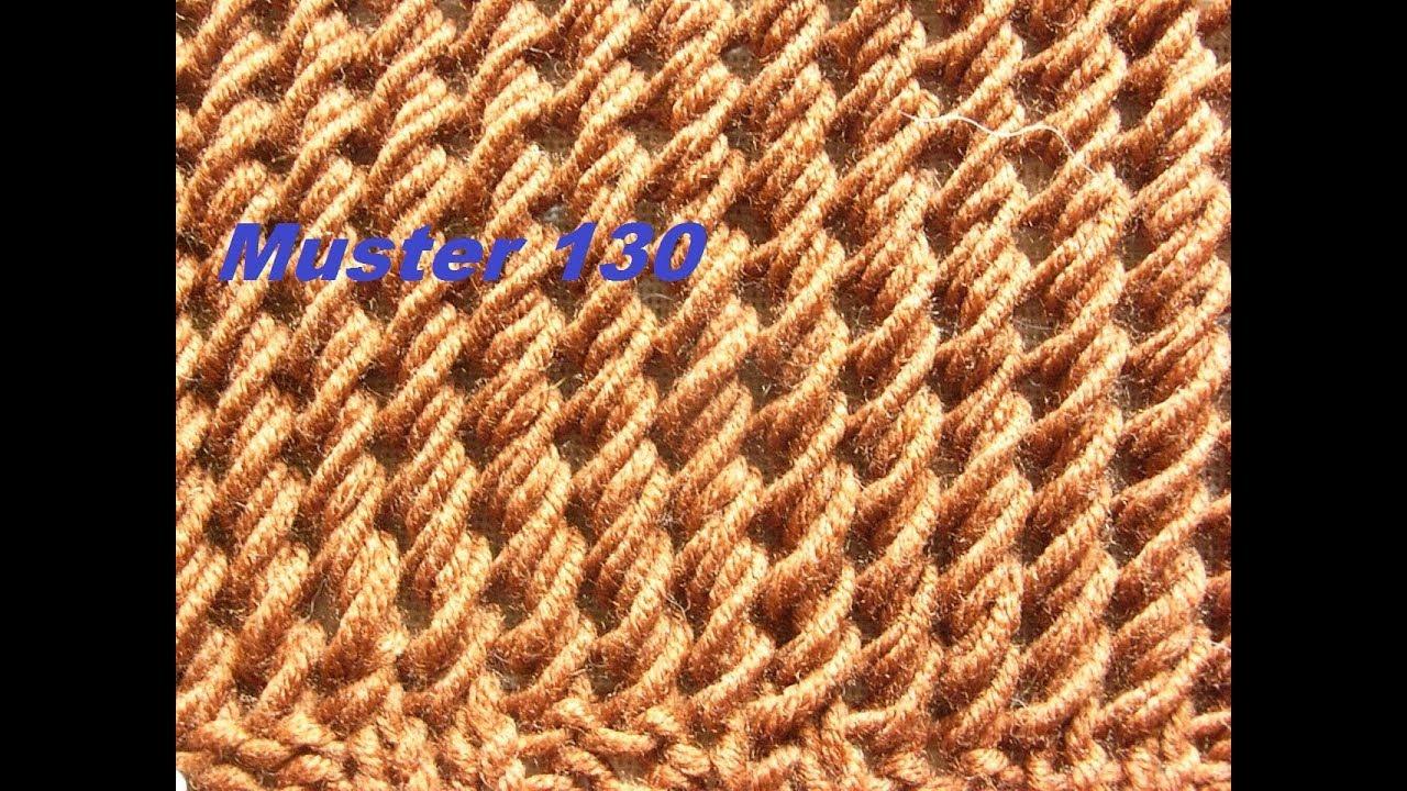 Muster 130*für Schal - Mütze*Tutorial *Strickmuster Anleitung ...