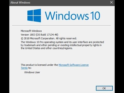 How to install or Update Windows 10 1803 using ISO file