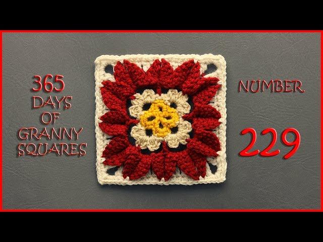 Crochet Tutorial In Full Bloom Granny Square Yarnutopia By Nadia Fuad