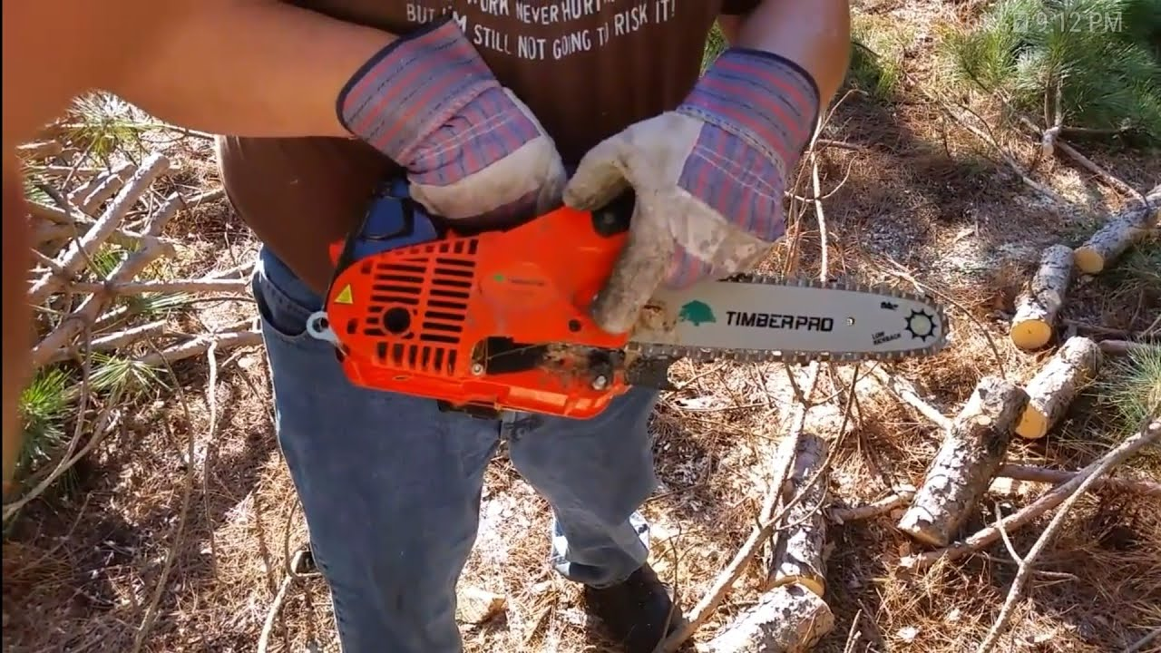 Cheapest Top-handle Chainsaw on Amazon! TimberPro CS2500 Top-Handle  Chainsaw Review and Demo