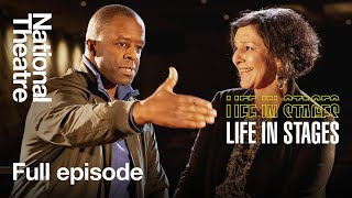 Life in Stages S1 Ep3: Adrian Lester and Meera Syal in conversation at the National Theatre