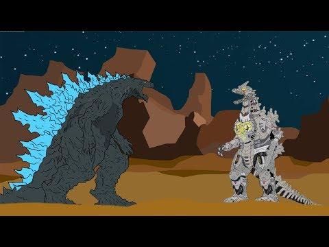 GODZILLA EARTH VS KIRYU - Shin Godzilla| Godzilla Cartoons