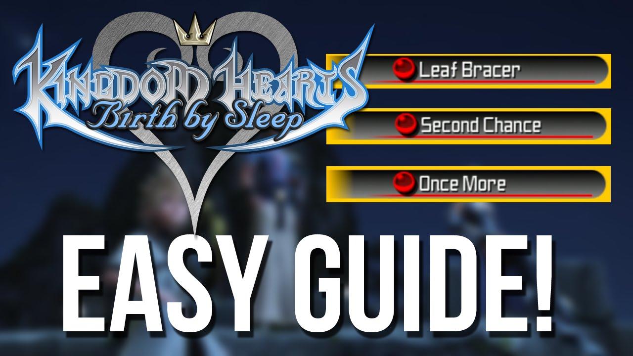 kingdom hearts birth by sleep abilities guide