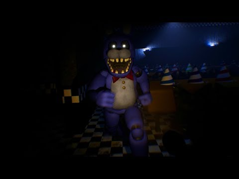 DO NOT SNEAK INTO FREDBEARS OR YOU WILL BE HUNTED BY ANIMATRONICS || FNAF Project Fredbear
