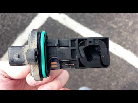 l ЧАСТЬ.ДМРВ HFM-7. Троит на холодную (hot-film mass air-flow sensor HFM-7 - FIX PROBLEM) - Видео приколы ржачные до слез
