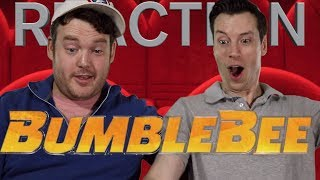 Bumblebee - New Official Trailer Reaction