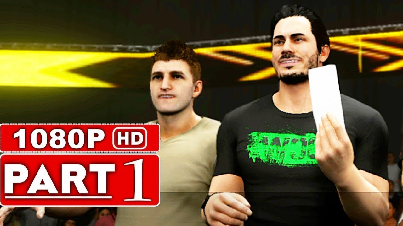 WWE 2K19 My Career Mode Gameplay Walkthrough Part 1 [1080p HD 60FPS Xbox One] - No Commentary