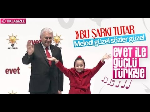 AKP'NİN REFERANDUM İÇİN HAZIRLADIĞI 'EVET' ŞARKISI