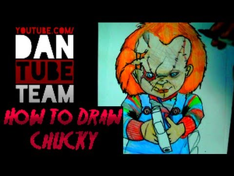 Drawing Chucky The Killer Doll