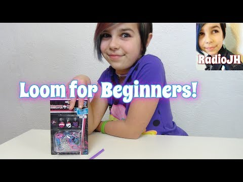 Rainbow Loom - Monster High - How To Tutorial For Beginners!