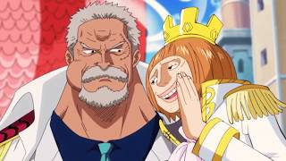 One Piece King Stelly and Garp Funny Moments