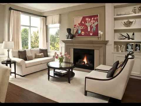 decorating ideas for living rooms with grey walls burnt orange and brown room decor open floor plan home design 2015 - youtube