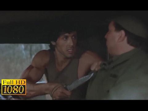 Rambo First Blood (1982) - Army Truck Hijacking Scene (1080) FULL HD