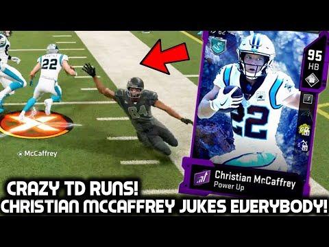CHRISTIAN MCCAFFREY JUKES EVERY DEFENDER! THE SUPER BOWL GAME ! Madden 20 Ultimate Team