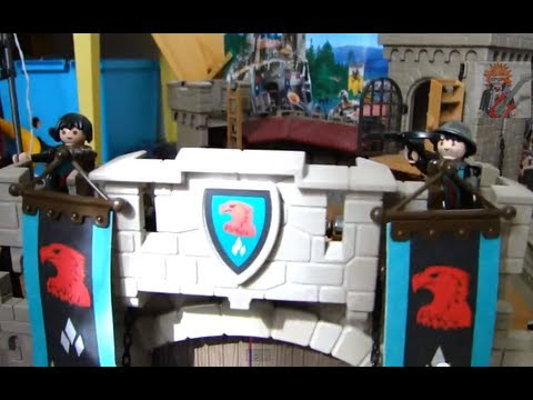 playmobil chevaliers knights faucon youtube. Black Bedroom Furniture Sets. Home Design Ideas