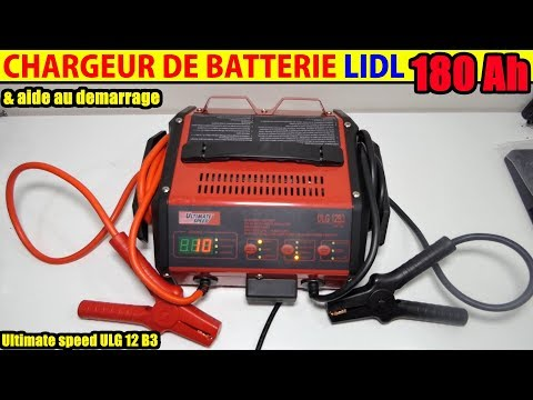 chargeur de batterie lidl ultimate speed ulg 12 voiture moto battery charger jump start function